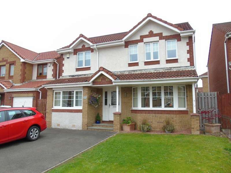 4 Bedrooms Detached House for sale in Balfron Drive, Carnbroe, Coatbridge, North Lanarkshire, ML5
