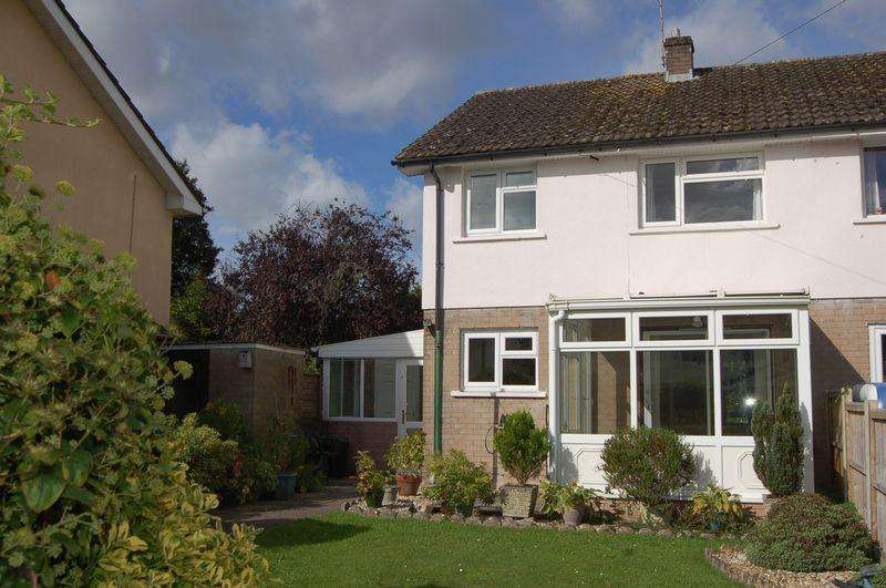 3 Bedrooms Semi Detached House for sale in Sunnyvale, Usk