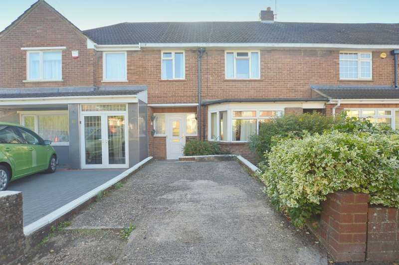 3 Bedrooms Terraced House for sale in Hill Rise, Luton, Bedfordshire, LU3 3EE