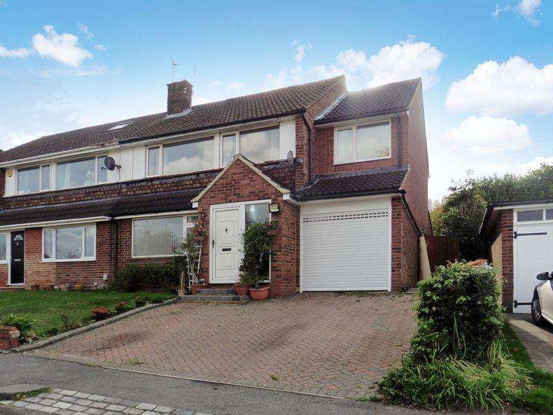 4 Bedrooms Semi Detached House for sale in Pipers Croft, South West Dunstable