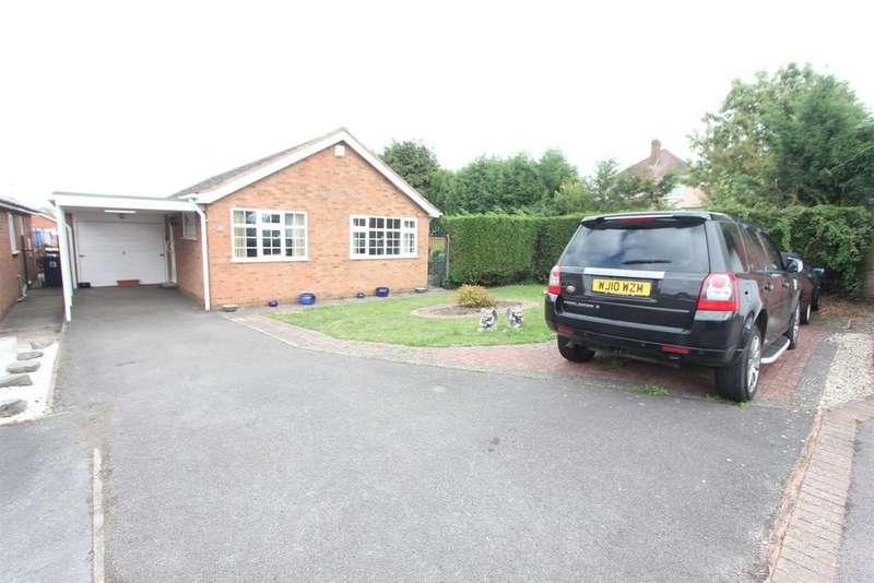 2 Bedrooms Detached Bungalow for sale in Osbaston Close, Hinckley