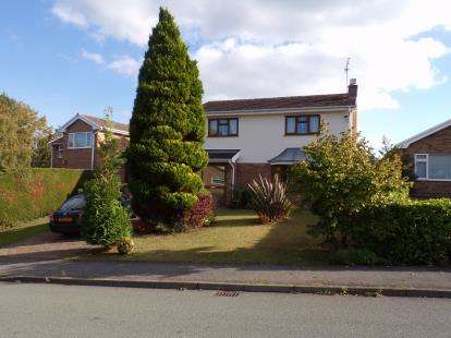 4 Bedrooms Detached House for sale in Ffordd Glyn, Coed-Y-Glyn, Wrexham, Wrecsam, LL13