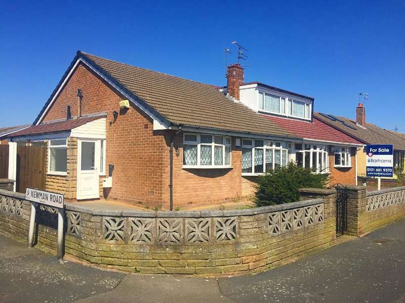 2 Bedrooms Semi Detached Bungalow for sale in SEYMOUR ROAD, TIPTON, WEST MIDLANDS, DY4 0EP