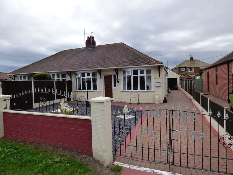 2 Bedrooms Semi Detached Bungalow for sale in Redcar Road, Marske