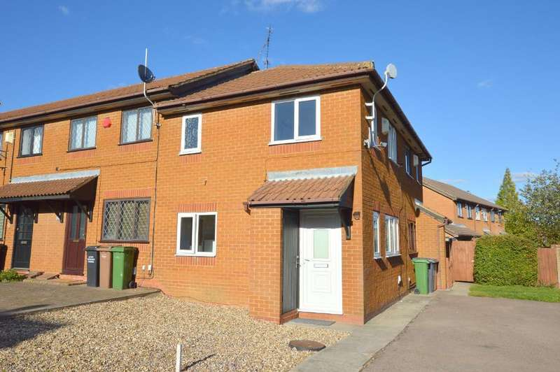 1 Bedroom Cluster House for sale in Dexter Close, Barton Hills, Luton, Bedfordshire, LU3 4DY