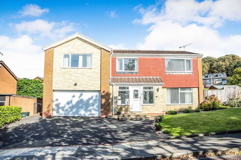 5 Bedrooms Detached House for sale in Linley Hill, Whickham, Newcastle Upon Tyne, NE16