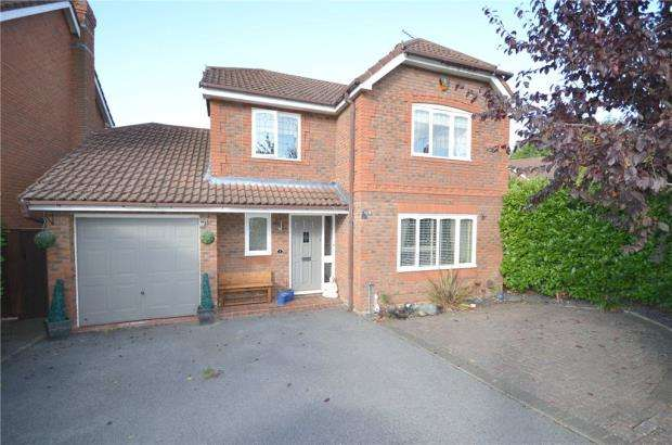4 Bedrooms Detached House for sale in Plantagenet Park, Warfield, Bracknell