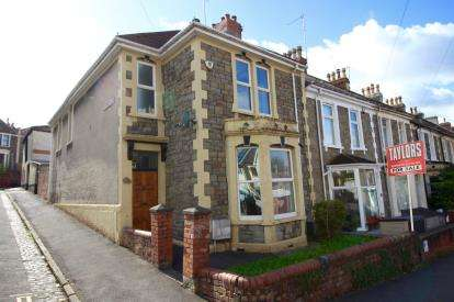 3 Bedrooms End Of Terrace House for sale in Allington Road, Southville, Bristol