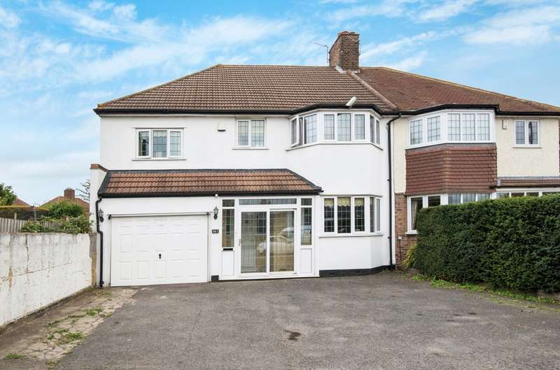 5 Bedrooms Semi Detached House for sale in Sidcup Road, London