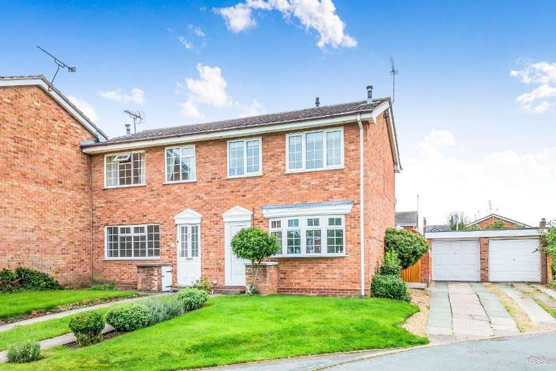 3 Bedrooms Semi Detached House for sale in Scaife Road, Nantwich, Cheshire, CW5 5TS