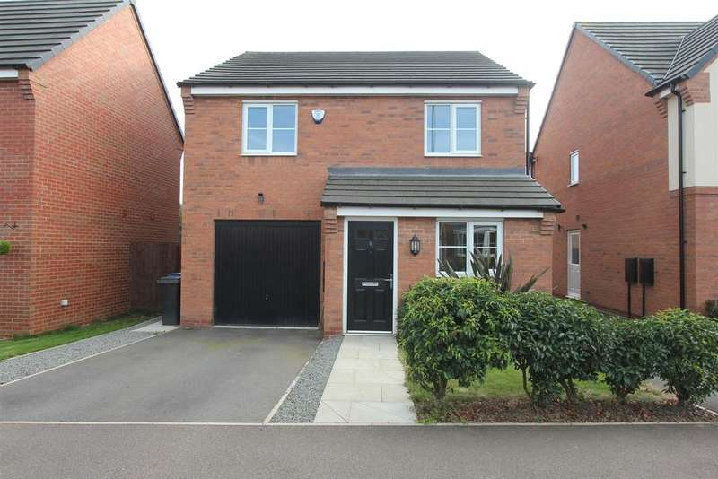 3 Bedrooms Detached House for sale in Amber Way, Burbage, Hinckley
