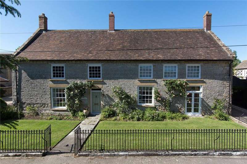 4 Bedrooms Detached House for sale in Home Farm Lane, Rimpton, Nr Sherborne, Somerset, BA22