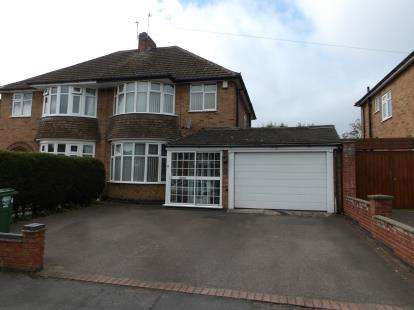4 Bedrooms Semi Detached House for sale in Hawthorn Avenue, Birstall, Leicester, Leicestershire