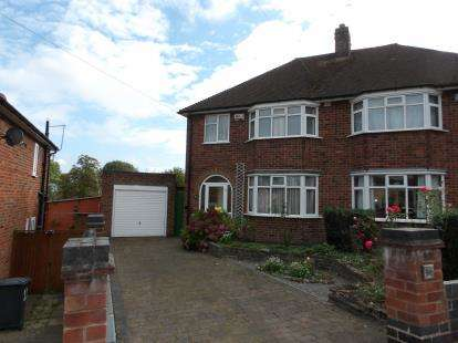 3 Bedrooms Semi Detached House for sale in Balcombe Avenue, New Parks, Leicester, Leicestershire