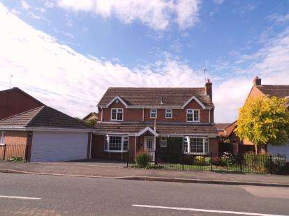 4 Bedrooms Detached House for sale in Foston Gate, Wigston, Leicester, Leicestershire
