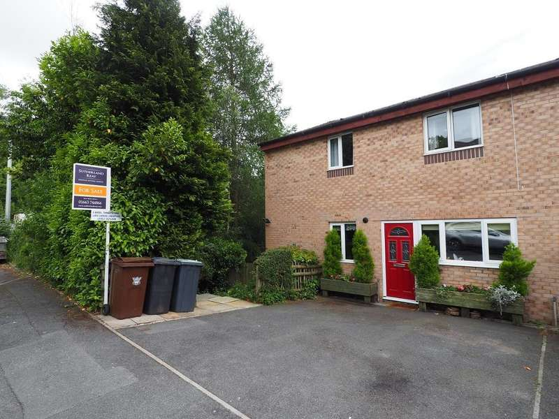 5 Bedrooms Semi Detached House for sale in St Georges Road, New Mills, High Peak, Derbyshire, SK22 4JT
