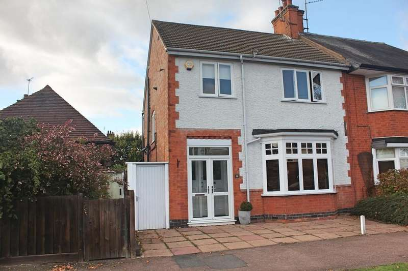 3 Bedrooms Semi Detached House for sale in Westhill Road, Western Park, Leicester