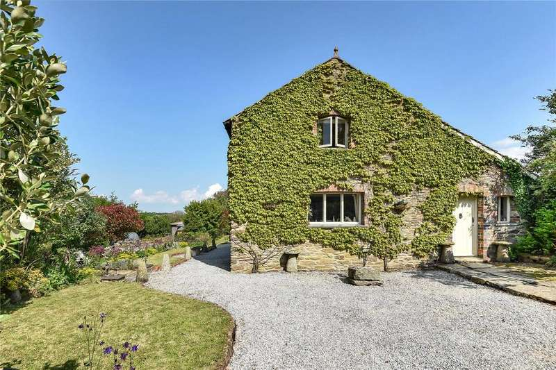 6 Bedrooms Barn Conversion Character Property for sale in Grampound Road Village, Truro, Cornwall, TR2