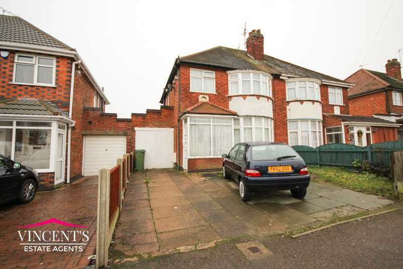 3 Bedrooms Semi Detached House for sale in Turnbull Drive, Leicester