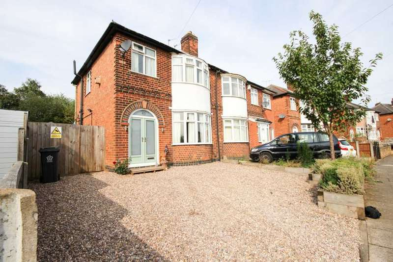 3 Bedrooms Semi Detached House for sale in Heyworth Road, Leicester
