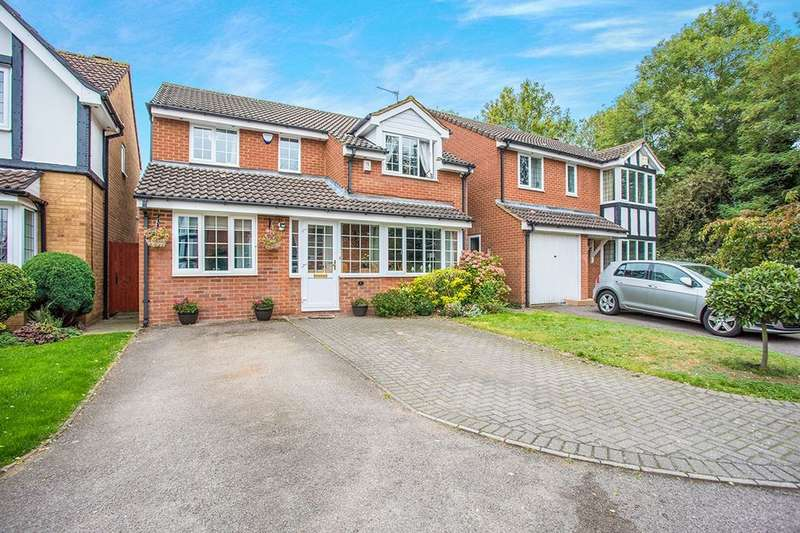 4 Bedrooms Detached House for sale in Lamb Close, Watford, WD25