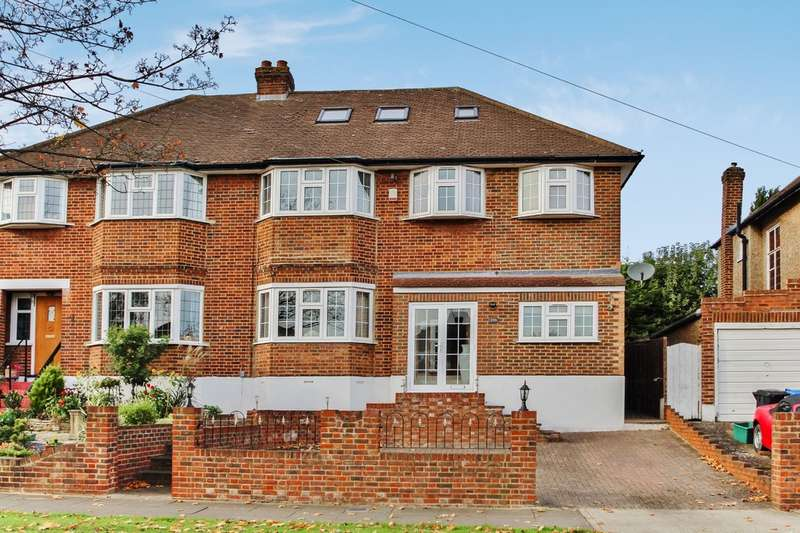5 Bedrooms Semi Detached House for sale in Raeburn Avenue, Surbiton