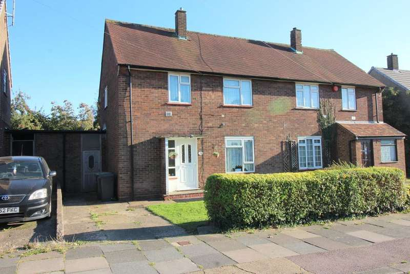 3 Bedrooms Semi Detached House for sale in Homestead Way, Luton, Bedfordshire, LU1 5PD