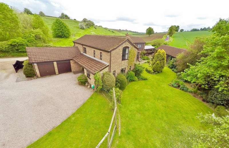 5 Bedrooms Detached House for sale in Rudhall Barns, Phocle Green, Ross-on-Wye, Herefordshire, HR9 7TL