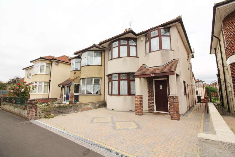 3 Bedrooms Semi Detached House for sale in Oldbury Court Road, Bristol, BS16 2HH
