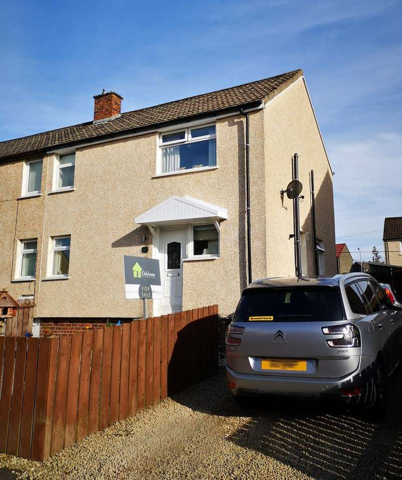 3 Bedrooms Semi Detached House for sale in Cameron Crescent, Auchinleck, Cumnock KA18