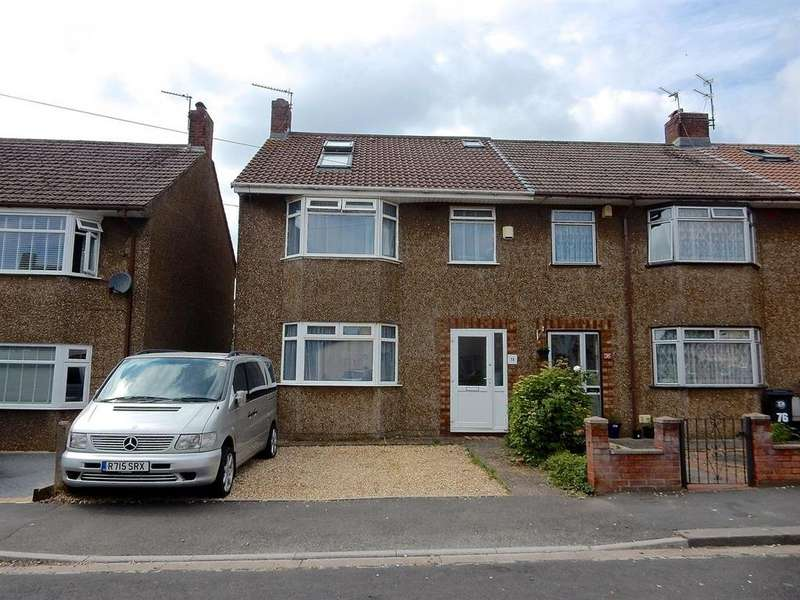 4 Bedrooms End Of Terrace House for sale in Dominion Road, Fishponds, BS16 3ET
