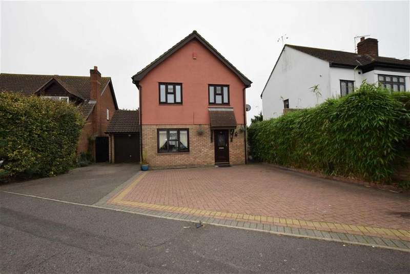4 Bedrooms Detached House for sale in Findon Gardens, Rainham, Essex