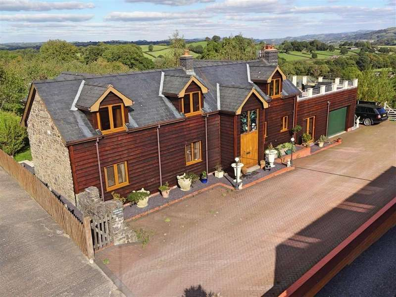 4 Bedrooms Unique Property for sale in The Stables, Perth Y Bu, Mochdre, Newtown, Powys, SY16