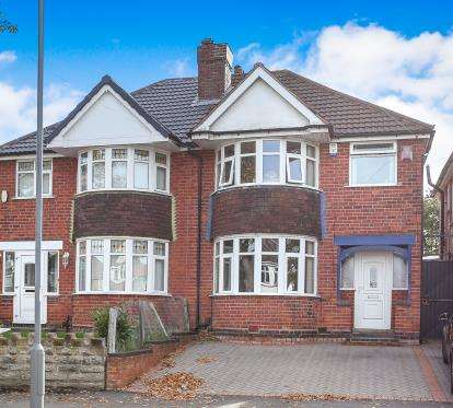 3 Bedrooms Semi Detached House for sale in Wyndhurst Road, Stechford, Birmingham, West Midlands
