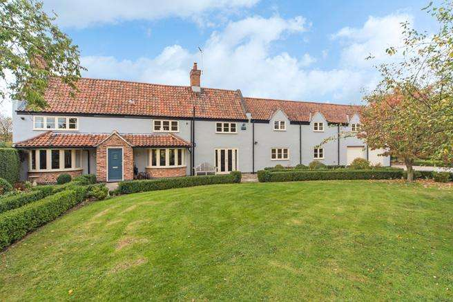 5 Bedrooms Detached House for sale in Moorfield Farm, Caythorpe Road, Caythorpe, Nottinghamshire NG14 7EB