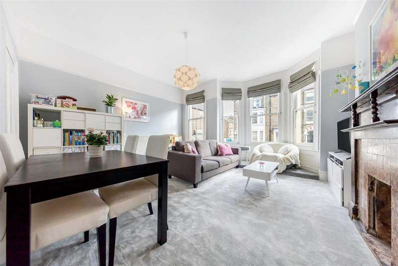 3 Bedrooms Flat for sale in Battersea Rise, SW11