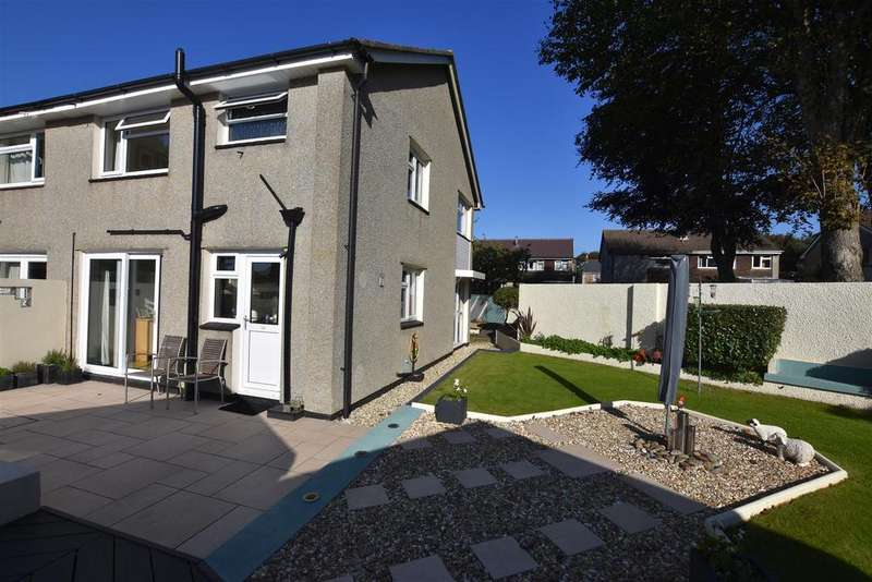 3 Bedrooms Semi Detached House for sale in Aneray Road, Camborne