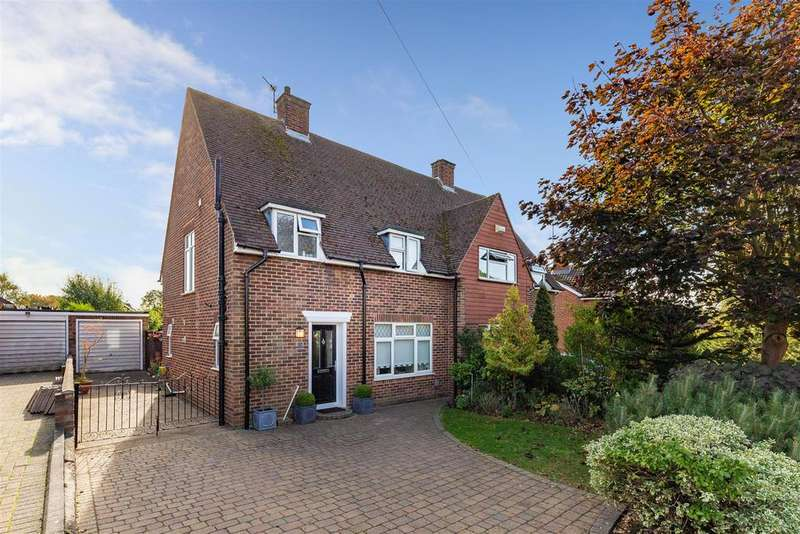 3 Bedrooms Semi Detached House for sale in Waysbrook, Letchworth Garden City