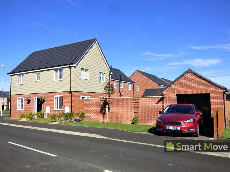 3 Bedrooms Detached House for sale in Goldcrest Road, Crowland, Peterborough, Lincolnshire. PE6 0FE