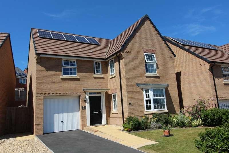 4 Bedrooms Detached House for sale in Membury Cresent EX1