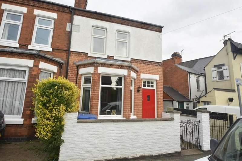 2 Bedrooms Semi Detached House for sale in Hill Street, Hinckley, Leicestershire, LE10 1DT