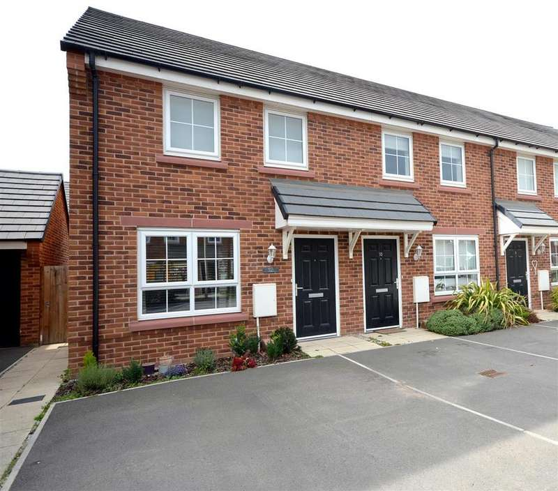 2 Bedrooms End Of Terrace House for sale in Harry Mortimer Way, Elworth, Sandbach