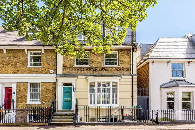 4 Bedrooms Mews House for sale in Thames Street, Sunbury-on-Thames, Surrey, TW16