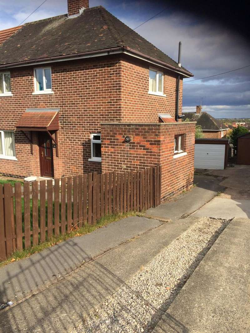 2 Bedrooms Semi Detached House for rent in Harborough Avenue, Sheffield