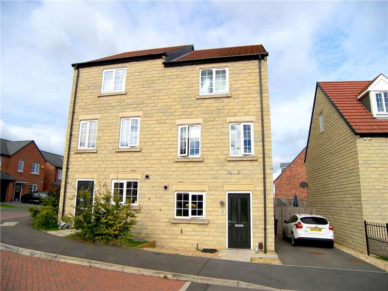 3 Bedrooms Semi Detached House for sale in Knitters Road, South Normanton, Derbyshire, DE55
