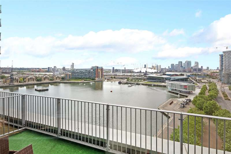 3 Bedrooms Flat for sale in Balearic Apartments, 15 Western Gateway, London, E16