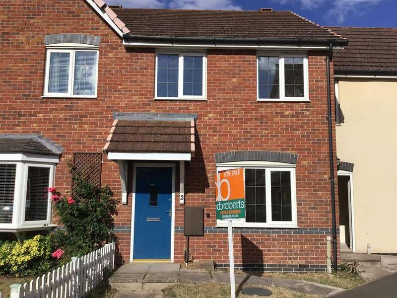 3 Bedrooms Terraced House for sale in Phoenix Close, Donnington, Telford