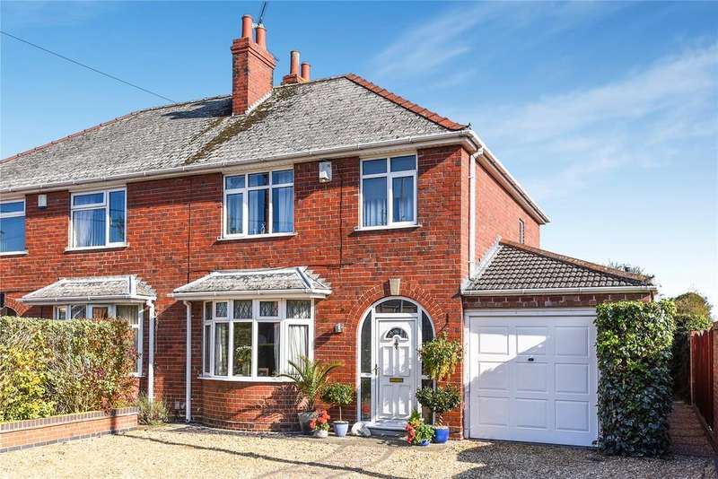 3 Bedrooms Semi Detached House for sale in Moor Lane, North Hykeham, LN6