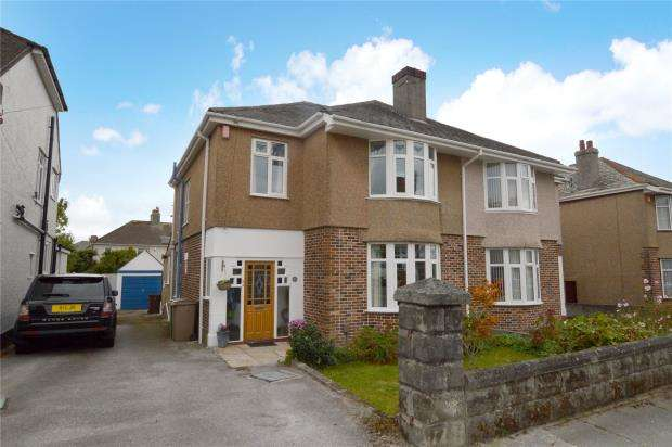 4 Bedrooms Semi Detached House for sale in Cresthill Road, Plymouth, Devon
