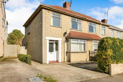 3 Bedrooms Semi Detached House for sale in Orchard Vale, Kingswood, Bristol, South Glos